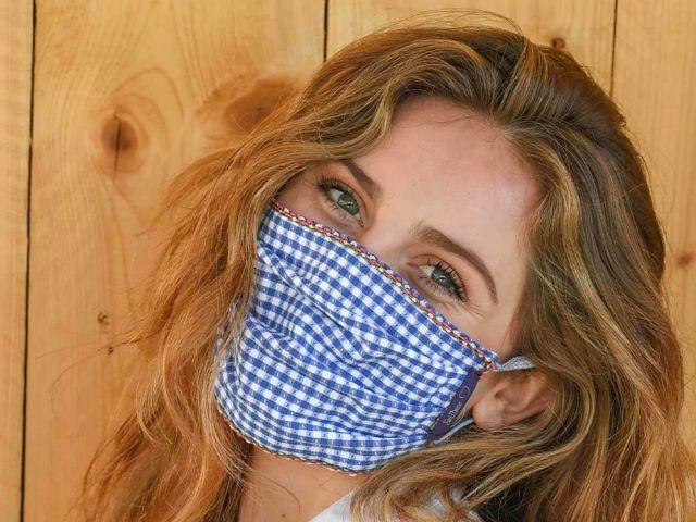 Communitymaske von Masken für München, Foto: Masken für München