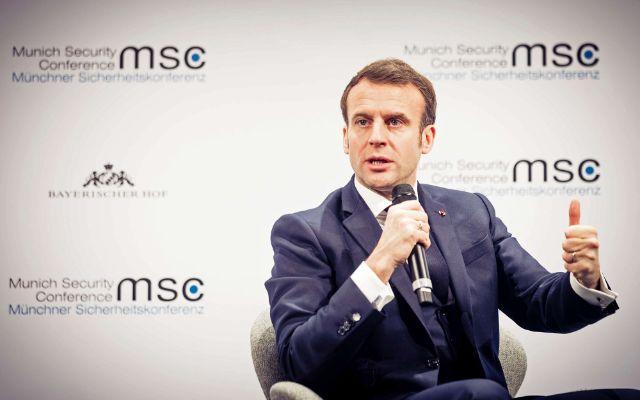 Frankreichs Präsident Emmanuel Macron., Foto: MSC / Kuhlmann