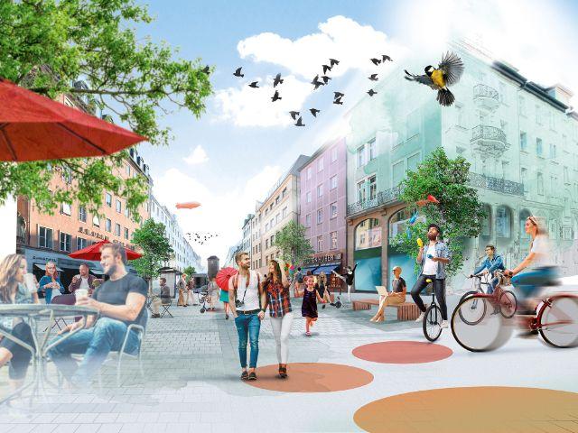 Autoreduzierte Altstadt, Foto: Peter und der Wolf Communications GmbH / LHM