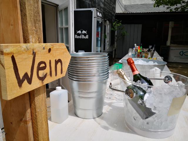 Bier- und Weingartens auf der Praterinsel, Foto: Samt und Sonders Gastronomie GmbH