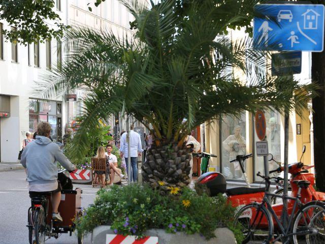 Die Westenriederstraße als Sommerstraße, Foto: Michael Nagy/Presseamt München