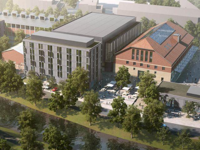 Interimsquartier des Gasteigs, Foto: Gasteig (Simulation)