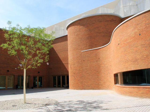 Der Neubau des Volkstheaters an der Tumblingerstraße, Foto: Baureferat