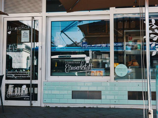 Eiswerkstatt Starnberg in Schwabing, Foto: Starnberger Eiswerkstatt