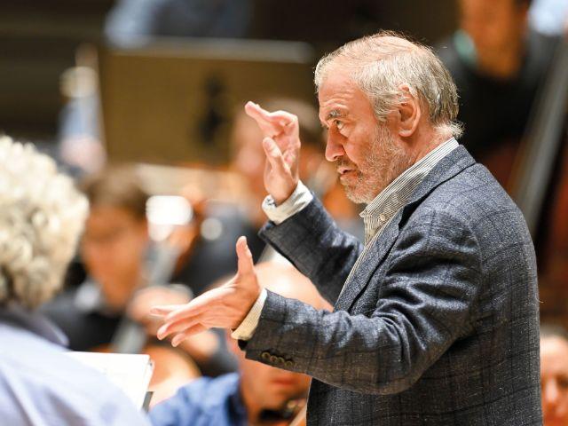 Dirigent Valery Gergiev, Foto: Robert Haas
