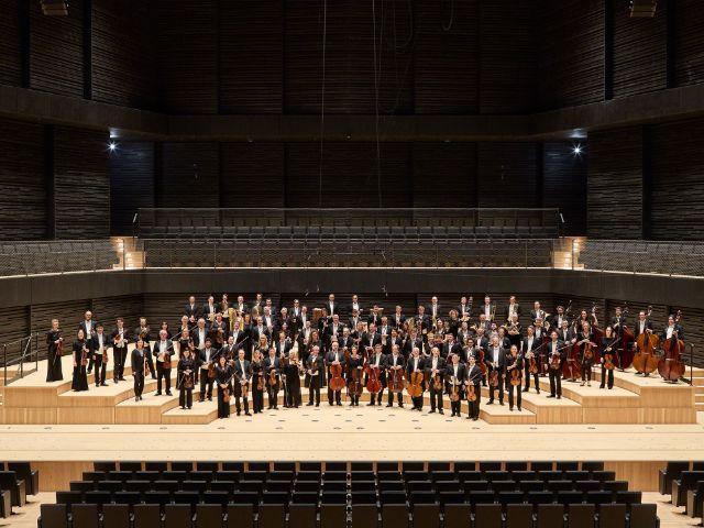 Münchner Philharmoniker in der neuen Isarphilharmonie, Foto: Judith Buss