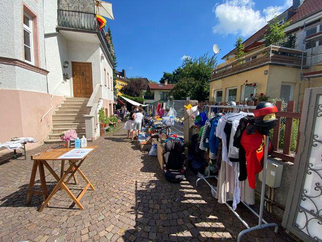 Hofflohmarkt in Nymphenburg, Foto: Marisa Koch