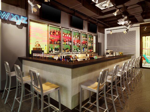 Die WXYZ Bar im Aloft Hotel, Foto: Aloft Hotel