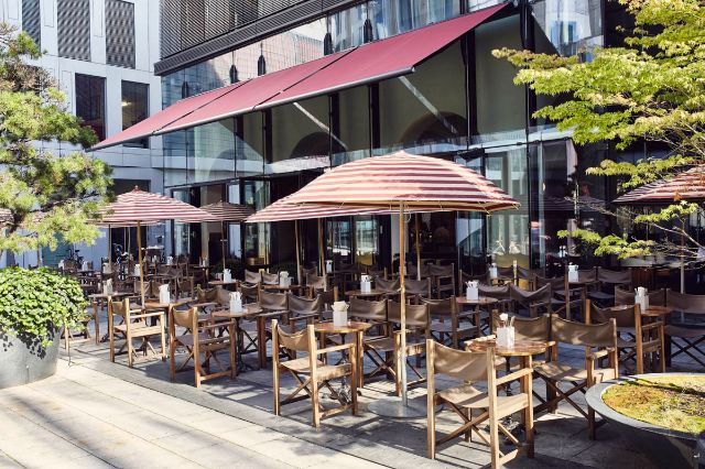 Der Terrassenbereich des Brenner Restaurants, Foto: Ender Suenni