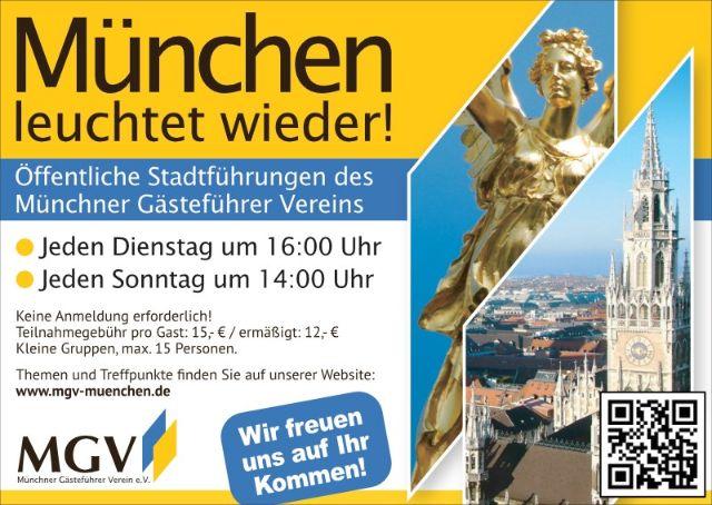 Münchner Gästeführer Verein, Foto: MGV