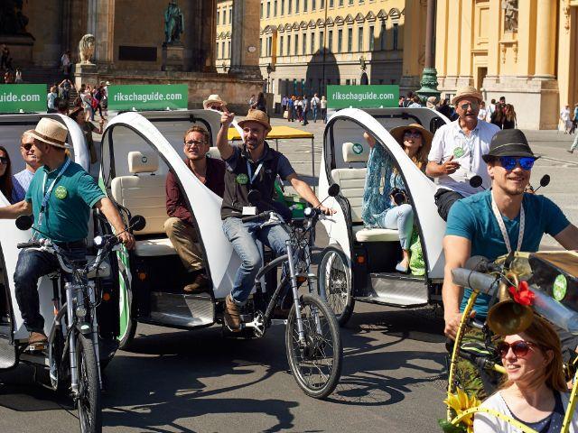 Rikscha-Fahrt mit rikschaguide, Foto: rikschaguide.com