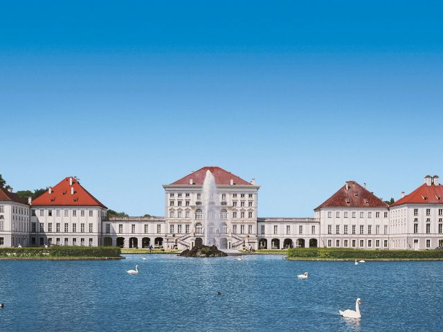 Ansicht vom Schloss Nymphenburg in München, Foto: Konrad Rainer