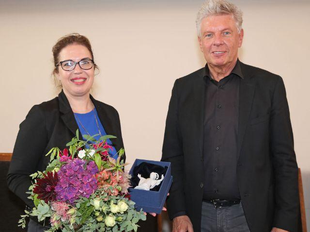 OB Dieter Reiter und die israelische Generalkonsulin in München, Sandra Simovich, Foto: Michael Nagy/Presseamt München