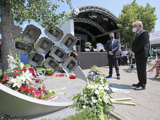 Gedenkakt für die Opfer des Anschlags am OEZ, Foto: Michael Nagy/Presseamt München
