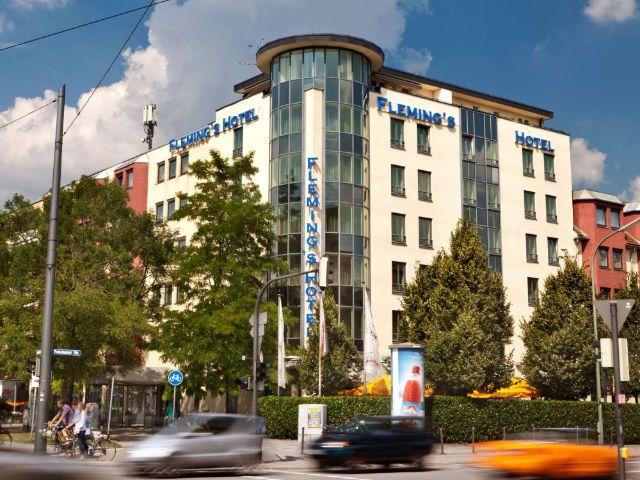Außenansicht des Flemings Hotel München-Schwabing, Foto: Flemings Hotel München-Schwabing