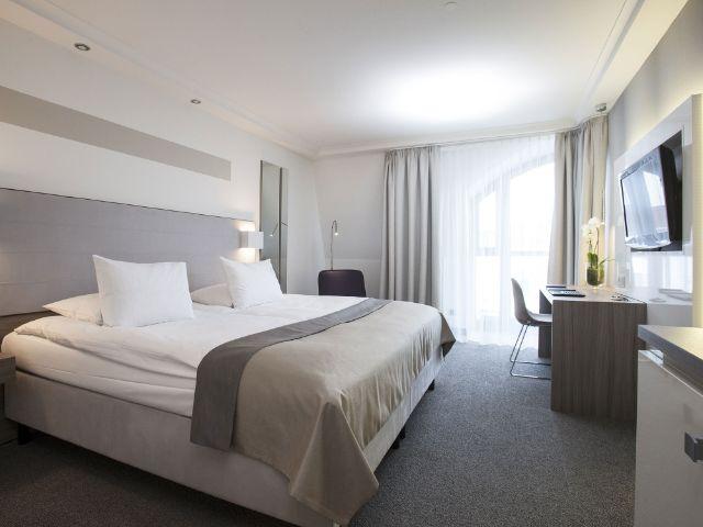 Ein Zimmer im Hotel Erzgießerei in München, Foto: Hotel Erzgießerei