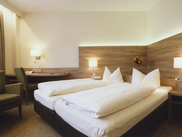 Ein Zimmer im Münchner Hotel Jedermann, Foto: Simone Casetta