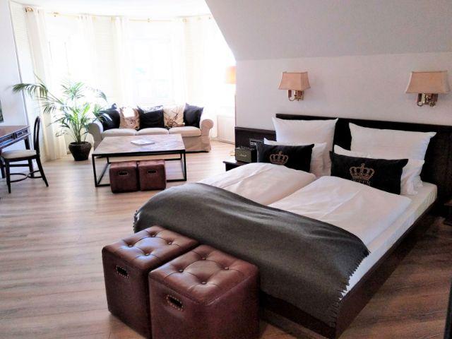 Zimmer im Hotel Krone in München, Foto: Hotel Krone