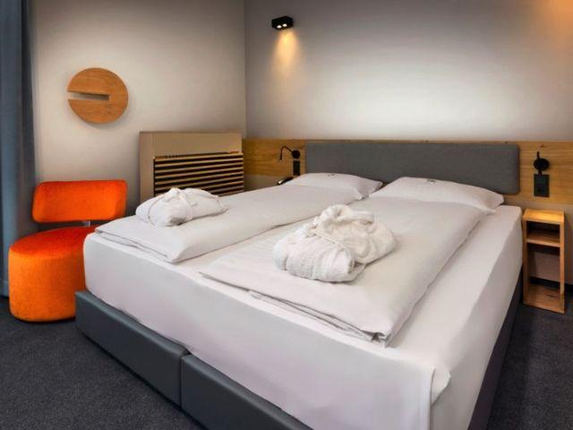 Ein Doppelzimmer im Intercity Hotel München, Foto: Intercity Hotel München