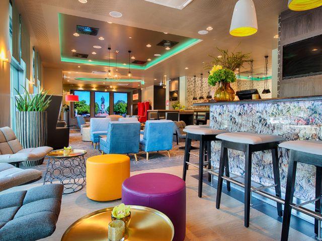 Die Bar im Hotel Leonardo Munich City East, Foto: Leonardo Hotels