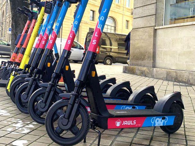 E-Scooter von Jawls, Foto: Jawls