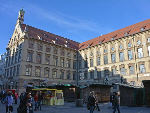 Die Alte Akademie im November 2015, Foto: muenchen.de/Michael Hofmann
