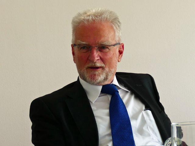 MVG-Geschäftsführer Herbert König, Foto: muenchen.de/Mark Read