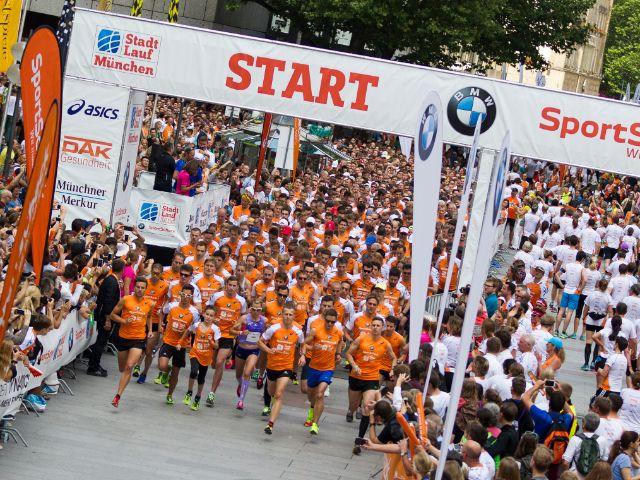 Impressionen vom Münchner Stadtlauf 2015., Foto: Münchner Stadtlauf