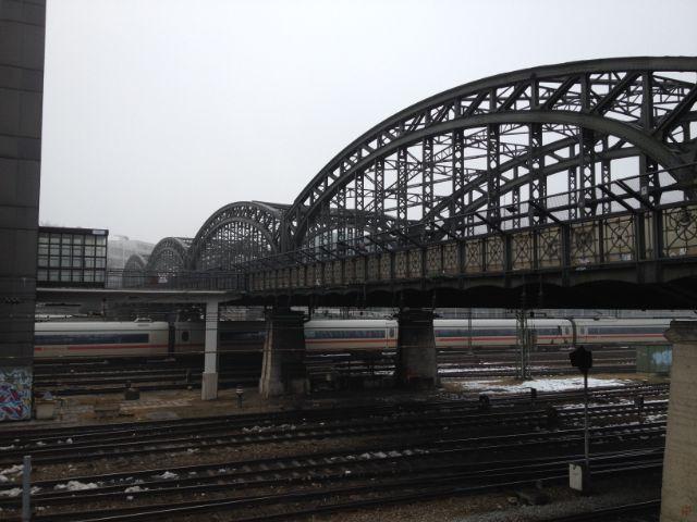 Hackerbrücke im Nebel, Foto: Melina Pfeffer