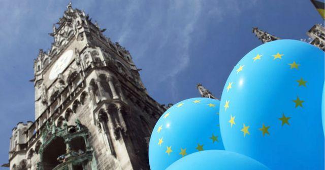 Europa-Mai 2021 in München, Foto: Michael Nagy/Presseamt München