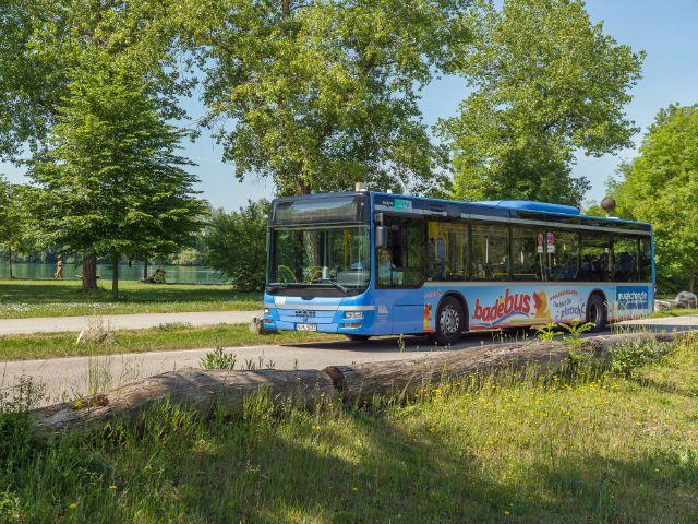 Badebus München Langwieder See, Foto: Münchner Linien