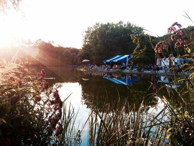 Das Café Gans am Wasser im Sommer, Foto: Café Gans am Wasser