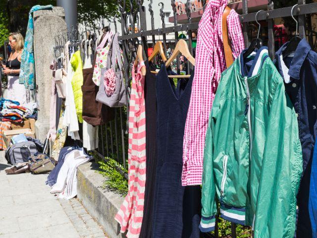 Hofflohmarkt Neuhausen, Foto: muenchen.de/Katy Spichal