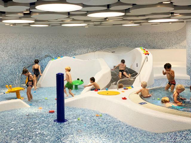 Der Kinderplanschbereich in der sanierten Olympia-Schwimmhalle, Foto: Marina Andresen