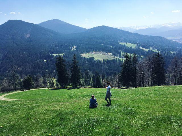 Sonntraten Wanderung in Bad Toelz, Foto: Julie Teicke
