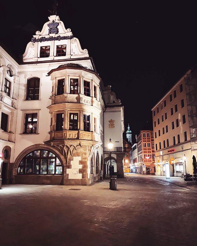 Platzl mit Hofbräuhaus