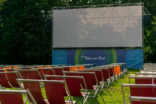 Bad Georgenschwaige: Open-Air Kino bei Fritzi und Karl, Foto: Sandra Strobl