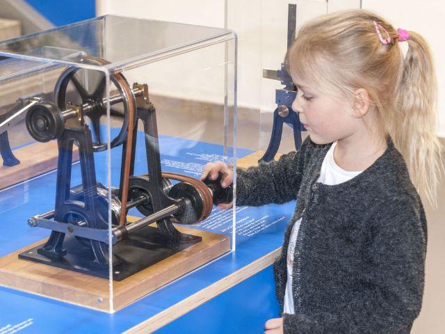 Mechanik zum Anfassen im Kinderreich des Deutschen Museums, Foto: Deutsches Museum