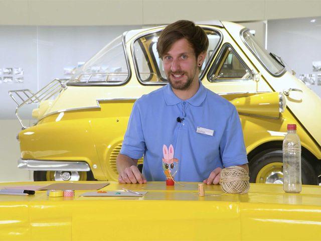 Osterbasteln mit dem BMW Museum, Foto: BMW Museum