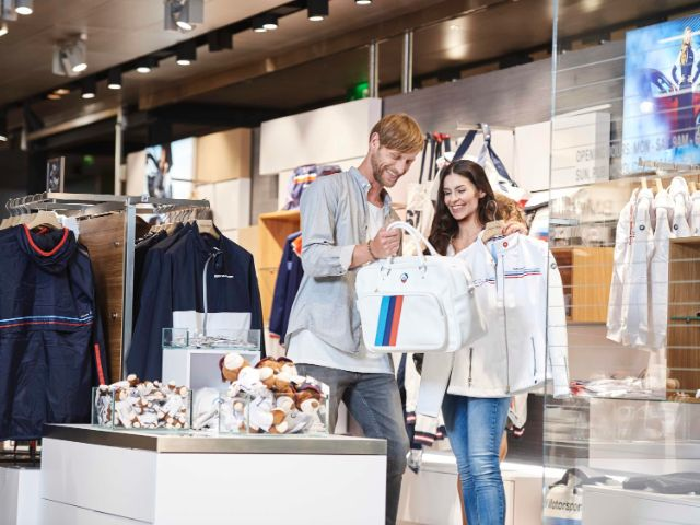 Shop BMW Welt, Foto: BMW