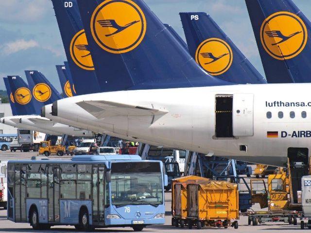 Flugzeuge der Lufthansa, Foto: Flughafen München