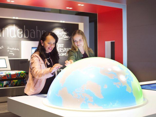 Die interaktive Ausstellung, Foto: Flughafen München