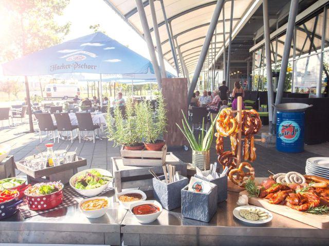 Das Speisenangebot, Foto: Flughafen München
