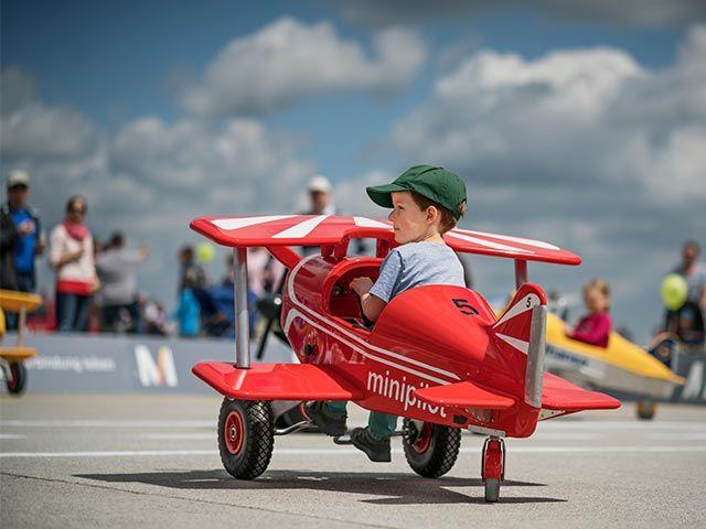 Action 4 Kids am Flughafen München, Foto: Flughafen München