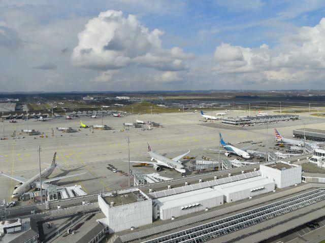 Rollfeld des Flughafens München, Foto: Flughafen München