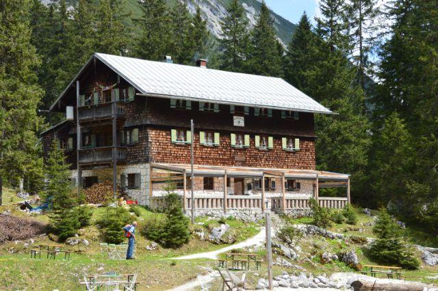 Reintalangerhütte, Foto: Thomas Gesell, DAV-Sektionen München & Oberland