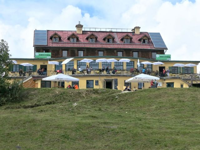 Das Kreuzeckhaus., Foto: Bbb-Commons (Own work) [CC BY-SA 3.0]