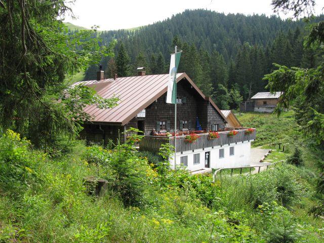 Lenggrieser Hütte in Lenggries, Foto: Lenggrieser Hütte