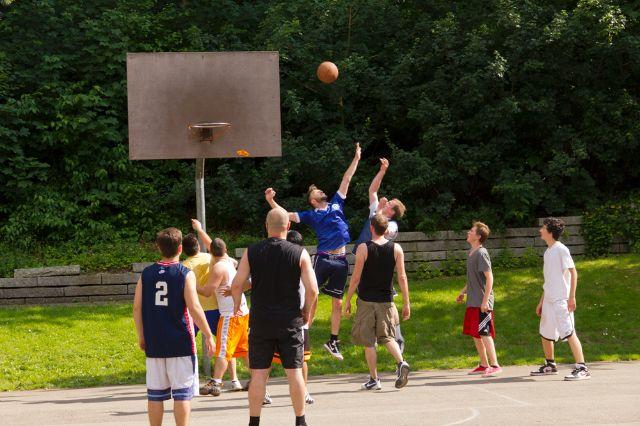 Basketball im Westpark