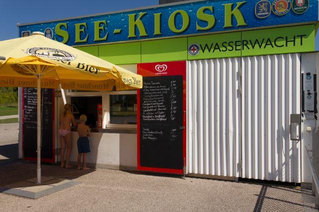 Kiosk am Riemer See, Foto: Katy Spichal